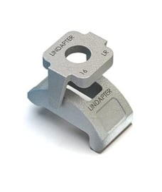 Type LR – Adjustable Steelwork Clamp - Rail Fixings - Lindapter Distributor - CBW Engineering